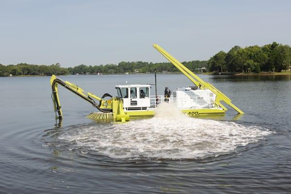 AMPHIBEX | La gamme de dragueuses amphibies la plus polyvalente et la plus complète au monde