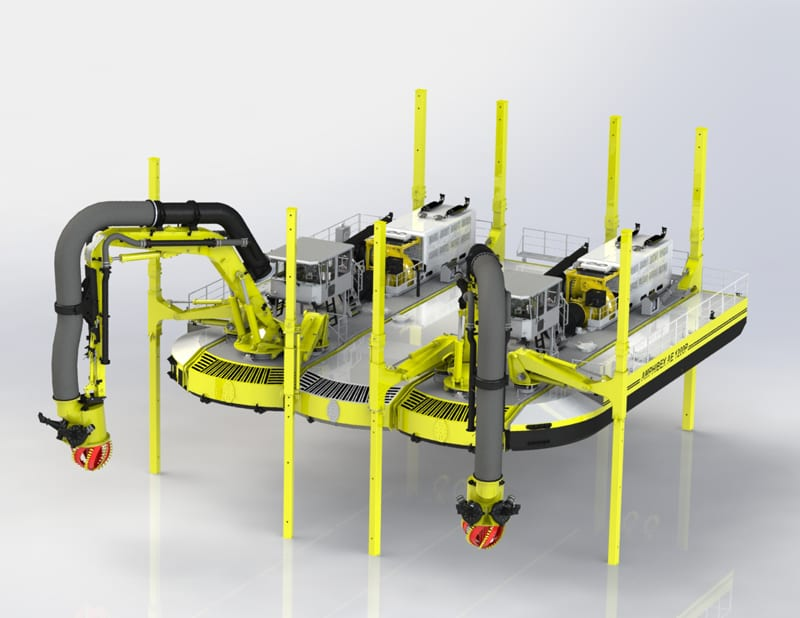 AMPHIBEX | The most versatile and complete range of amphibious dredgers in the world.